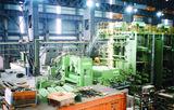 马来钢厂160T电炉安装