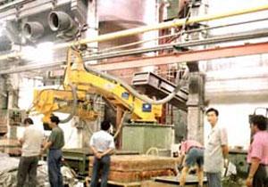 郑州纺织机械厂树脂吵铸造线