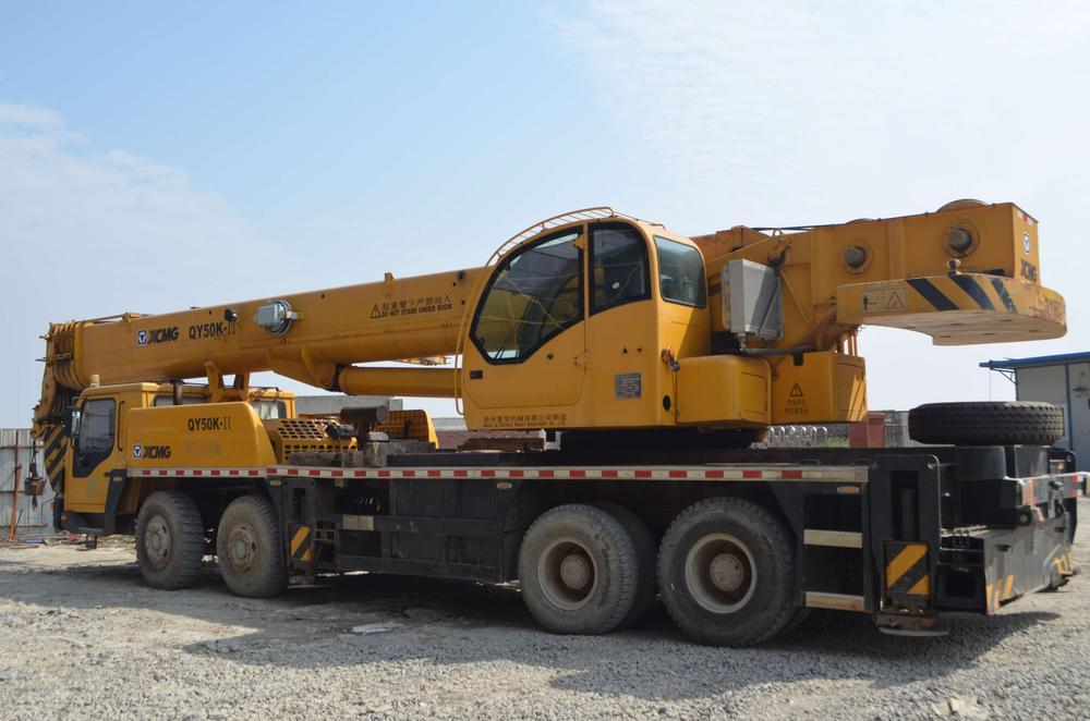 吊车--50吨汽车吊--徐工QY50K