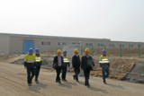 公司领导到濮阳盛通聚源PC项目调研指导